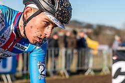 Adam Toupalik (CZE), Men Under 23, Cyclo-cross World Championships Tabor, Czech Republic, 1 February 2015, Photo by Pim Nijland / PelotonPhotos.com