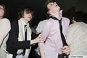 Young Mod / indie kids dancing at The Junk Club, Southend, UK 2006