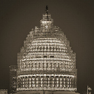 Capitol Dome Scaffolding