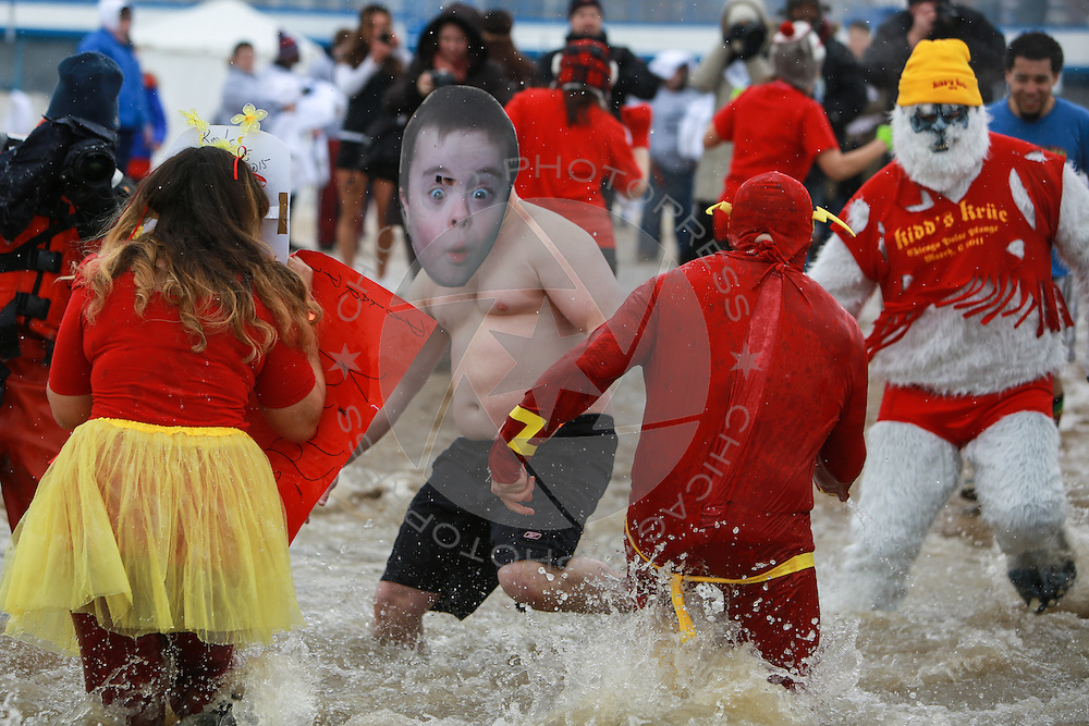 Special Olympics Chicago Polar Plunge, Sunday, March 1, 2015. (Photo by Chicago PhotoPress)