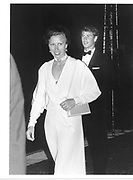 Princess Anne and Prince Edward. Cowes. 1984 approx. © Copyright Photograph by Dafydd Jones 66 Stockwell Park Rd. London SW9 0DA Tel 020 7733 0108 www.dafjones.com