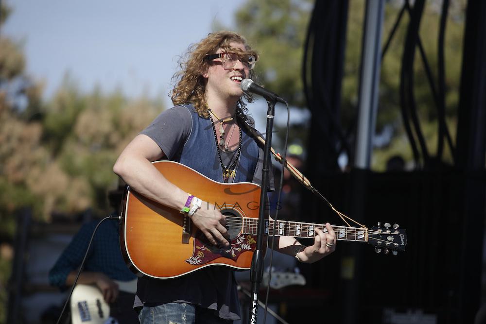 Allen Stone, March 29, 2014, in Phoenix, Arizona.