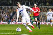 Leeds United midfielder Pablo Hernandez (19) in action  during the EFL Sky Bet Championship match between Leeds United and West Bromwich Albion at Elland Road, Leeds, England on 1 March 2019.