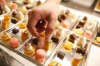 In the kitchens of Restaurant Daniel, of Chef Daniel Boulud, in New York City - Photograph by Owen Franken
