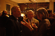 Mark Shand ,  Don McCullin and Lady Anne Somerset. Book party for LAST VOYAGE OF THE VALENTINA by Santa Montefiore (Hodder & Stoughton) Asprey,  New Bond St. 12 April 2005. ONE TIME USE ONLY - DO NOT ARCHIVE  © Copyright Photograph by Dafydd Jones 66 Stockwell Park Rd. London SW9 0DA Tel 020 7733 0108 www.dafjones.com