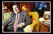 KENNETH CLARKE AT DUNDAS CASTLE.<br /> <br /> PICTURE BY PAUL DODDS - 0777 569 1846