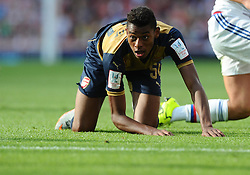 Jeff Reine-Adelaide of Arsenal  - Mandatory by-line: Joe Meredith/JMP - 25/07/2015 - SPORT - FOOTBALL - London,England - Emirates Stadium - Arsenal v Lyon - Emirates Cup