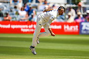 David Wiese of Sussex bowling during the Specsavers County Champ Div 2 match between Sussex County Cricket Club and Northamptonshire County Cricket Club at the 1st Central County Ground, Hove, United Kingdom on 30 June 2019.