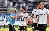 Fotball Menn NM Cup 4 runde Rosenborg-Odd<br /> Lerkendal Stadion, Trondheim<br /> 30 mai 2018<br /> <br /> <br /> Endelig kunne Rosenborgs trener Kåre Ingebrigtsen (V) smile. Her med Magnus Stamnestrø<br /> <br /> <br /> Foto : Arve Johnsen, Digitalsport