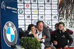Van Campenhoudt Alain (BEL)  Sponsor of Van Paesschen Constant (BEL) - Citizenguard Toscan de Sainte Hermelle<br /> Longines Global Champions Tour of Antwerpen 2014<br /> © Dirk Caremans