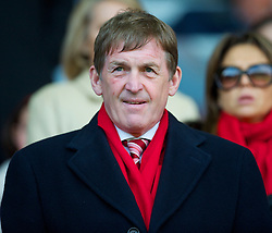 LIVERPOOL, ENGLAND - Sunday, March 28, 2010: Liverpool legend King Kenny Dalglish sees his side take on Sunderland during the Premiership match at Anfield. (Photo by: David Rawcliffe/Propaganda)