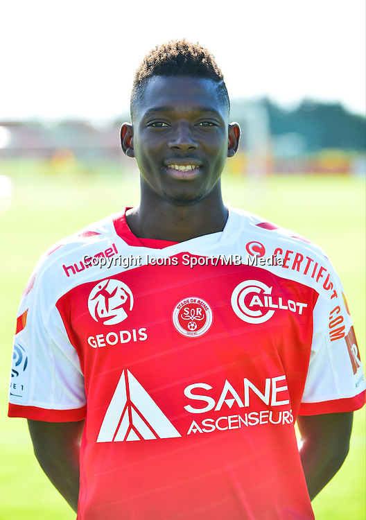 Hamari TRAORE - 28.09.2015 - Photo officielle Reims - Ligue 1<br /> Photo : Dave Winter / Icon Sport