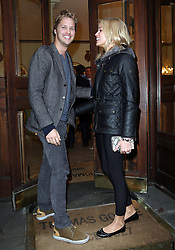 Sam Branson and his new wife Isabella arriving at the We Day event in London on  Monday, 22nd  April 2013 Photo by: Stephen Lock / i-Images