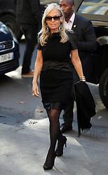 Jane D. Hartley bei der Chanel Modenschau während der Paris Fashion Week / 041016<br /> <br /> ***Chanel fashion show as part of Paris Fashion Week on october 04, 2016 in Paris***