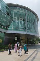 Genesis building i Mathura road, New Delhi.<br /> <br /> Immeuble Genesis qui abrite la delegation de la region Rhone-Alpes ainsi que les laboratoires Merieux.