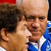 NLD/Amsterdam/20100731 - Wedstrijd om de JC schaal 2010 tussen Ajax - FC Twente, Martin Jol