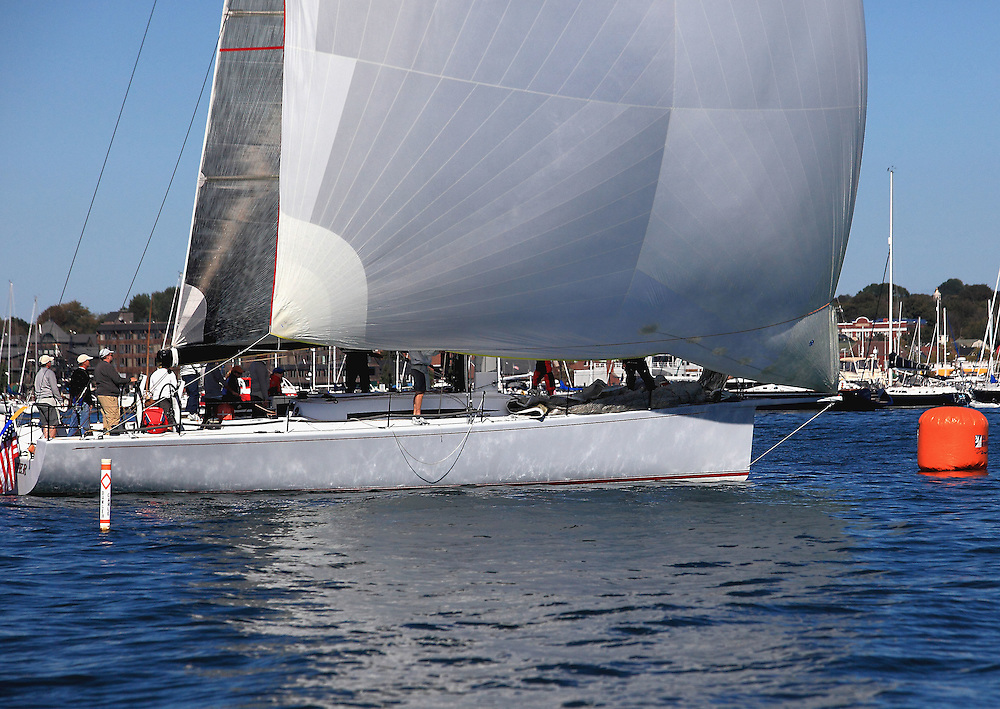 Privateer finishes the 9th Annual Sail for Hope event in Newport, RI.