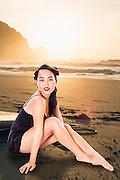 Model: Sunshine Lee