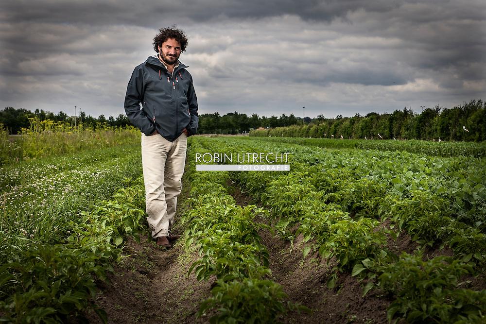 WAGENINGEN - portret van portret van Pablo Tittonell COPYRIGHT ROBIN UTRECHT