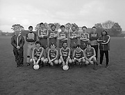 Division 1A Playoff At Iveagh Grounds..St James Gate vs Park Villa..1986..28.05.1986..05.28.1986..28th May 1986..Pictured is the St James Gate FC team which took part in the play-off against Parkvilla FC for the Division 1a title at the Iveagh Grounds,Crumlin..