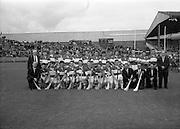 06/09/1964<br /> 09/06/1964<br /> 6 September 1964<br /> All-Ireland Minor Final: Cork v Laois at Croke Park, Dublin.<br /> The Laois Minor Hurling team.