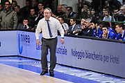 DESCRIZIONE : Campionato 2014/15 Serie A Beko Dinamo Banco di Sardegna Sassari - Acqua Vitasnella Cantu'<br /> GIOCATORE : Stefano Sacripanti<br /> CATEGORIA : Allenatore Coach<br /> SQUADRA : Acqua Vitasnella Cantu'<br /> EVENTO : LegaBasket Serie A Beko 2014/2015<br /> GARA : Dinamo Banco di Sardegna Sassari - Acqua Vitasnella Cantu'<br /> DATA : 28/02/2015<br /> SPORT : Pallacanestro <br /> AUTORE : Agenzia Ciamillo-Castoria/L.Canu<br /> Galleria : LegaBasket Serie A Beko 2014/2015
