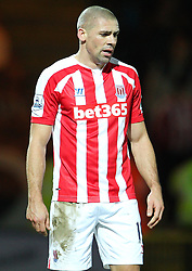 Stoke City's Jonathan Walters - Photo mandatory by-line: Matt McNulty/JMP - Mobile: 07966 386802 - 26/01/2015 - SPORT - Football - Rochdale - Spotland Stadium - Rochdale v Stoke City - FA Cup Fourth Round