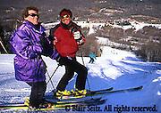 Poconos Skiing, Young Adult Couple, Poconos, NE PA
