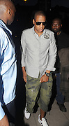 27.JUNE.2011. LONDON<br /> <br /> JAY-Z ARRIVING AT THE O2 SHEPERDS BUSH EMPIRE TO WATCH WIFE BEYONCE'S SPECIAL ONE OFF GIG TO LAUNCH HER NEW ALBUM 4.<br /> <br /> BYLINE: EDBIMAGEARCHIVE.COM<br /> <br /> *THIS IMAGE IS STRICTLY FOR UK NEWSPAPERS AND MAGAZINES ONLY*<br /> *FOR WORLD WIDE SALES AND WEB USE PLEASE CONTACT EDBIMAGEARCHIVE - 0208 954 5968*