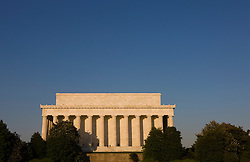 """The Lincoln Memorial is located on the National Mall in Washington, D.C. It is a United States Presidential memorial built to honor the 16th president of the United States, Abraham Lincoln. The architect was Henry Bacon, the sculptor was Daniel Chester French, and the painter of the interior murals was Jules Guerin...The building is in the form of a Greek Doric temple and contains a large seated sculpture of Abraham Lincoln and inscriptions of two well-known speeches by Lincoln. The memorial has been the site of many famous speeches, including Martin Luther King's """"I Have a Dream"""" speech, delivered on August 28, 1963, during the rally at the end of the March on Washington for Jobs and Freedom...Like other monuments on the National Mall, including the nearby Vietnam Veterans Memorial, Korean War Veterans Memorial, and National World War II Memorial, the Lincoln Memorial is administered by the National Park Service under its National Mall and Memorial Parks group. The National Memorial has been listed on the National Register of Historic Places since October 15, 1966. It is open to the public 24 hours a day. In 2007, it was ranked seventh on the List of America's Favorite Architecture by the American Institute of Architects."""