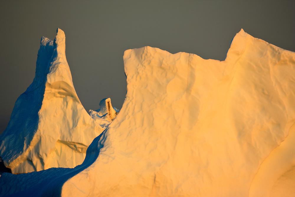 Greenland; diskobay; iceberg; saqqaq