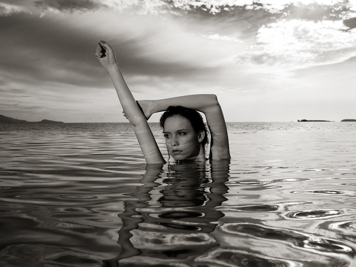 Photo shoot for Fashion TV at Koh Samui Island, Thailand