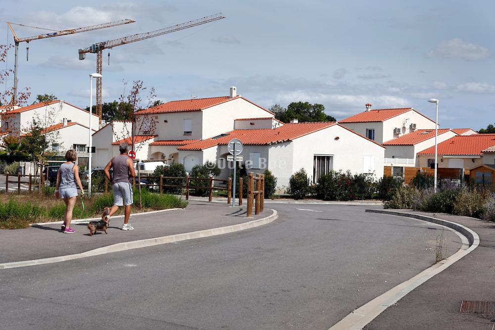 a new residential neighborhood
