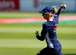 Danielle Wyatt of England warms up ahead of their Women's World Cup match with South Africa Women - Mandatory by-line: Robbie Stephenson/JMP - 05/07/2017 - CRICKET - County Ground - Bristol, United Kingdom - England Women v South Africa Women - ICC Women's World Cup Group Stage