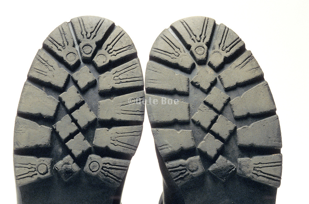 pair of rubber soles