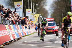 Riejanne Markus (NED) fourth at Amstel Gold Race - Ladies Edition 2018, a 116.9 km road race from Maastricht to Berg en Terblijt on April 15, 2018. Photo by Sean Robinson/Velofocus.com