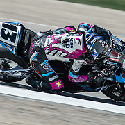 August 3, 2013 - Tooele, UT - Melissa Paris competes in Daytona Sportbike Race 1 at Miller Motorsports Park.