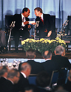 Jimmy Carter and Anwar Sadat at the US Chamber of Commerce on March 27,1979<br /> Photo by Dennis Brack