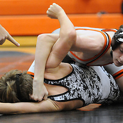 TOM KELLY IV &mdash; DAILY TIMES<br /> Marple Newtown's Ryan Keating wrestles Strath Haven's Zach Pratzner during the 106 lb match during the Strath Haven at Marple Newtown wresting match, on Wednesday December 17, 2014.