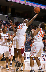 20081228 - Rider at #15 Virginia (NCAA Women's Basketball)