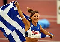 Friidrett , 9. juli 2006 , Gøteborg , EM , Europamesterskapet ,<br /> Athletics , European  Championship <br /> Hrisopiyi Castrejana , GRE