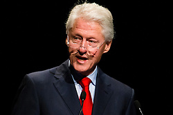 © Licensed to London News Pictures. 23/07/2014. Former US President Bill Clinton speaks during a session of the 20th International AIDS conference held in Melbourne Australia. Photo credit : Asanka Brendon Ratnayake/LNP