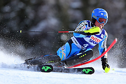 06.01.2014, Stelvio, Bormio, ITA, FIS Weltcup Ski Alpin, Bormio, Slalom, Herren, im Bild Mattias Hargin // Mattias Hargin  in action during mens Slalom of the Bormio FIS Ski World Cup at the Stelvio in Bormio, Italy on 2014/01/06. EXPA Pictures © 2014, PhotoCredit: EXPA/ Sammy Minkoff<br /> <br /> *****ATTENTION - OUT of GER*****