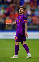 BIRKENHEAD, ENGLAND - Tuesday, July 10, 2018: Liverpool's Alberto Moreno during a preseason friendly match between Tranmere Rovers FC and Liverpool FC at Prenton Park. (Pic by Paul Greenwood/Propaganda)