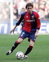 """Marco Rossi (Genoa)<br /> Italian """"Serie B"""" 2006-07<br /> 03 Mar 2007 (Match Day 26)<br /> Genoa-Lecce (1-0)<br /> """"Luigi Ferraris""""-Stadium-Genova-Italy<br /> Photographer: Luca Pagliaricci INSIDE"""