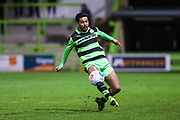 Forest Green Rovers Fabien Robert(26) on the ball during the Vanarama National League match between Forest Green Rovers and Solihull Moors at the New Lawn, Forest Green, United Kingdom on 21 March 2017. Photo by Shane Healey.