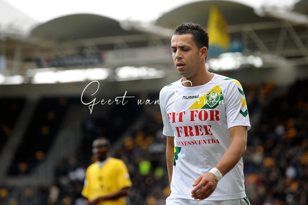 22-03-2009 Voetbal:Roda JC:Ado Den Haag:Kerkrade<br /> Ahmed Ammi komt teleurgesteld van het veld<br /> Foto: Geert van Erven