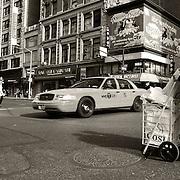 Street scene from Midtown Manhattan