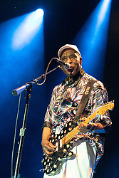 June 30, 2018 - Milwaukee, Wisconsin, U.S - BUDDY GUY performs live at Henry Maier Festival Park during Summerfest in Milwaukee, Wisconsin (Credit Image: © Daniel DeSlover via ZUMA Wire)