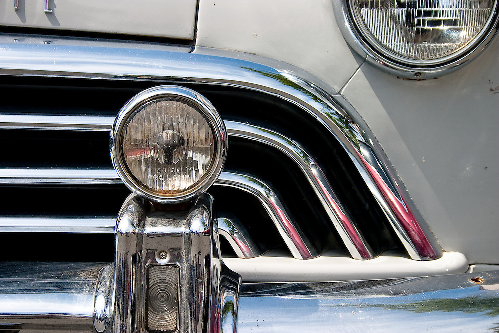 Grill detail 1948 Oldsmobile